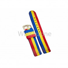 Curea Ceas Nylon ROMANIA 18mm 20mm 22mm