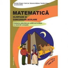 Matematica. Olimpiade si concursuri scolare - clasa a VIII-a (2008-2012) - Nicolae Grigore