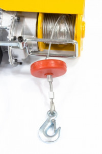 Macara electrica TF1000, 1 t, 1600 W, înălțime 12 m, 8 m / min, DENZEL