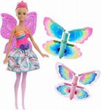 Papusa Barbie Dreamtopia Zana Zburatoare, Mattel