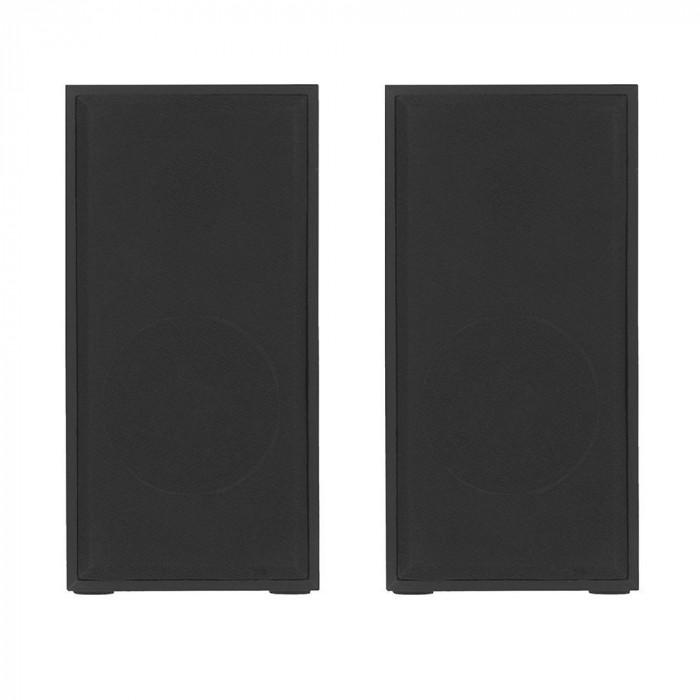 Boxe lemn PC Tellur, 6W, conector USB, Negru