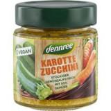 Crema Tartinabila cu Morcovi si Zucchini Bio 120 grame Dennree Cod: 420355
