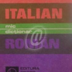 Mic dictionar italian-roman (ED. Sport-Turism)