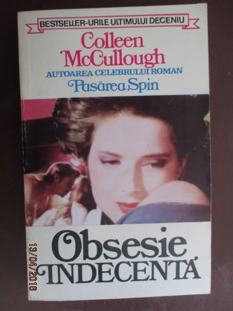 Obsesie indecenta-Colleen McCullough