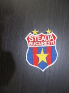 Ecuson fotbal -  Steaua Bucuresti (vechi, panza)