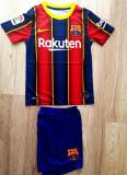 Echipament FC Barcelona copii 5-14 ani, XS/S, YS, YXL, YXXL