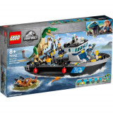 LEGO Jurassic World Evadarea Baryonyx pe Vapor 76942