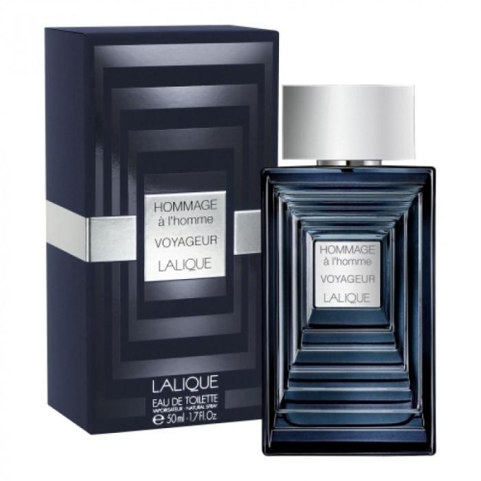 Apa de toaleta Barbati, Lalique Hommage a L'Homme Voyageur, 50ml