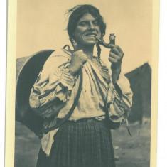 373 - ETHNIC, Gypsy, Tigani, Romania - old postcard, real PHOTO - unused - 1936