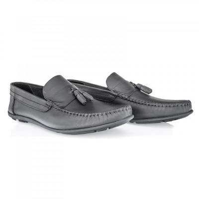 Pantofi barbati Caspian din piele naturala Cas-690-N foto