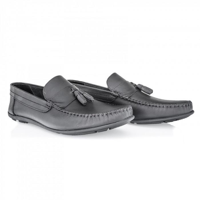 Pantofi barbati Caspian din piele naturala Cas-690-N