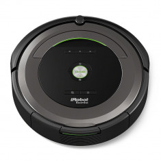 IRobot Robot de aspirare Roomba 681, Antiangle, AeroVac, Detectare acustica, iAdapt, Li-Ion, Negru
