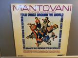 Montovani – Folk Songs Around the World (1966/London/USA) - Vinil/Impecabil, emi records