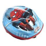 Casca de protectie pentru copii Spider Man, polistiren, plastic