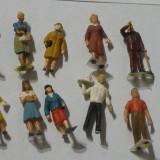 Set 10 figurine, scara 1/87, 1:87, H0 - 1:87, Accesorii si decor