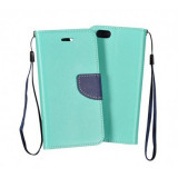 Husa Flip Fancy Samsung G390 Galaxy Xcover4 Mint/Blue
