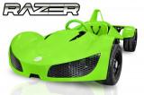 Cumpara ieftin Masinuta electrica RAZER GT 48V 1000W cu 2 viteze Verde