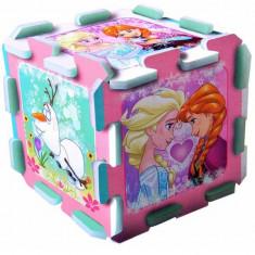Covor de joaca puzzle spuma Frozen, Trefl