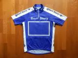 Tricou ciclism SMS Santini BMW Made in Italy. Marime L (48), vezi dim.; ca nou
