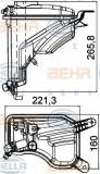Vas de expansiune, racire BMW Seria 3 Cabriolet (E93) (2006 - 2013) HELLA 8MA 376 789-751