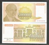 IUGOSLAVIA 500.000 500000 DINARI 1994 UNC [1] P-143 a , necirculata