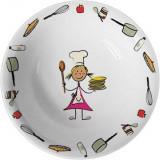 Bol supa din portelan pentru copii 0.5 Lit, Saporoso