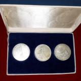 Set 3 medalii argint germania, Europa