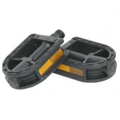 Pedale pentru copii, din plastic, negre, YTGT-50125.1