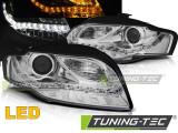 Faruri Audi A4 B7 11.04-03.08 DAYLIGHT LED IND. Crom