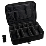 Geanta Manichiura Black Travel Nail-Up Case