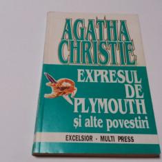 Agatha Christie - Expresul de Plymouth si alte povestiri  RF11/0