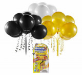 Bunch O Baloons - Set party baloons refill Negru/Auriu/Alb, Zuru