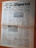 Sportul 22 octombrie 1979-etapa diviziei a la fotbal,steaua lider