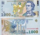 Romania 1 000 Lei 1998 UNC