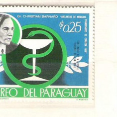 Paraguay Famous people, Olympics, MNH A.122