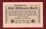 Bancnota Germania  -  REICHSBANKNOTE   - 5.000.000 MARK  1923