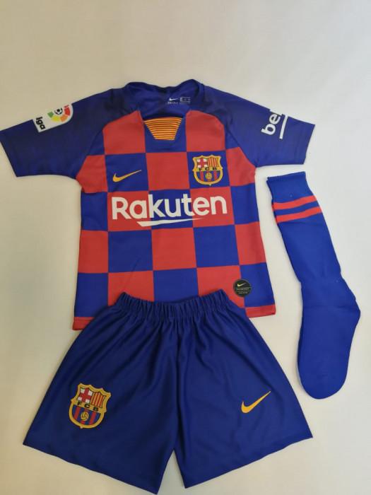 Echipament fotbal copii Barcelona Messi