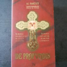 A. J. HARTLEY - DE PROFUNDIS