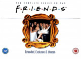 FILM SERIAL Friends - Seasons 1-10 [40 DVD] Complete Collection Original, Engleza, independent productions