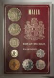 Set de monetarie Malta Proof 1972