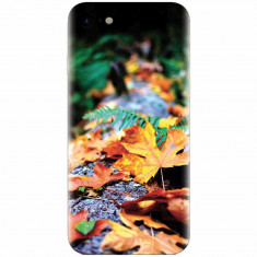 Husa silicon pentru Apple Iphone 7, Autumn Leaves