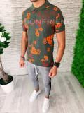 Tricou slim fit polo -  tricou barbati - tricou fashion - A5373