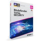Antivirus BitDefender Total Security Multi-Device 2021 10 Dispozitive 1 An Licenta noua Retail Box
