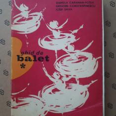 GHID DE BALET × DANIELA CARAMAN