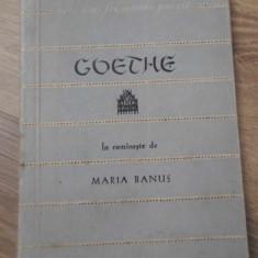 POEZII - GOETHE