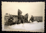 P.084 FOTOGRAFIE RAZBOI LUFTWAFFE WWII AVIATIE AVION PRABUSIT 8,4/6cm