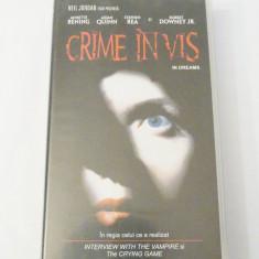 Caseta video VHS originala film tradus Ro - Crime in Vis