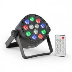 Beamz PLS25 Par, LED reflector, 12 x 1 W RGBW LED, baterie, telecomandă foto