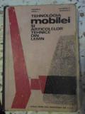 TEHNOLOGIA MOBILEI SI ARTICOLELOR TEHNICE DIN LEMN (UZATA)-GRIGORE N., MIRZEA I., LAZARESCU C., NICOLESCU D.