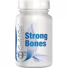 Calciu si magneziu pentru sistemul osos, Strong Bones, 250 capsule, CaliVita